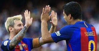 Messi eclipsa la batalla t�ctica de Guardiola y Luis Enrique