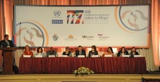 Se realiza Uruguay XIII conferencia sobre la Mujer de Am�rica Latina y el Caribe
