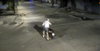 Un detenido por videovigilancia en el barrio Goes