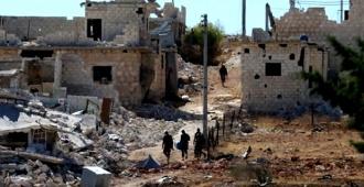 Al menos 33 muertos en Siria en bombardeo de coalición sobre centro de acogida