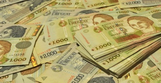 Moneda uruguaya cierra estable; dólar a 28,34 pesos