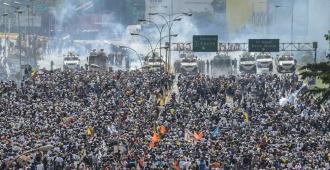 Tres muertos dejó la primera jornada de huelga de 48 horas en Venezuela