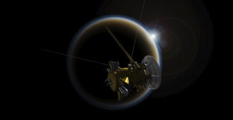 La sonda Cassini se despide convertida en un fulgurante meteorito