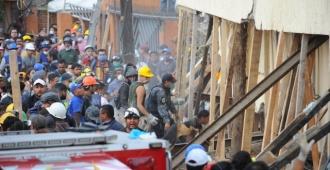 No habría niños sobrevivientes en escuela siniestrada en México