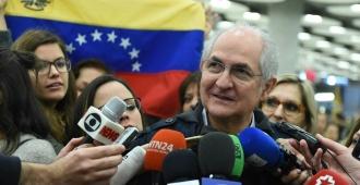 """Antonio Ledezma: """"Jamás pensé que tendría que emigrar de Venezuela"""""""