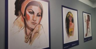 Exposición itinerante del artista francés Lamazou llega a Montevideo