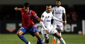 Nacional cayó 3-1 ante el Santos