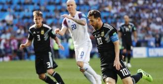 El Argentina-Islandia tuvo audiencia del 99,6 por ciento en el país vikingo