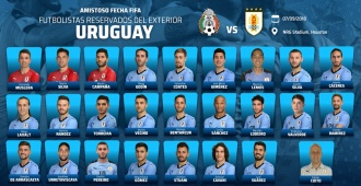 Selección: primera reserva para enfrentar a México
