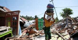 Un nuevo terremoto de magnitud 6,3 sacude la isla indonesia de Lombok
