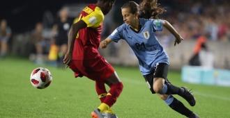 Mundial Femenino sub 17: Uruguay goleado por Ghana