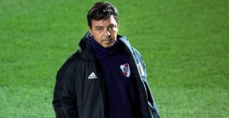 Presidente de River Plate confirma que Gallardo seguirá entrenando al club