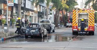 El senador Bianchi chocó a varios vehículos en Punta del Este y su espirometría dio positiva