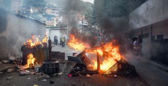 Muere un joven en una protesta antigubernamental en Caracas, según ONG
