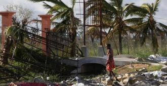 Suben a 417 los muertos en Mozambique por el paso del cicl�n Idai