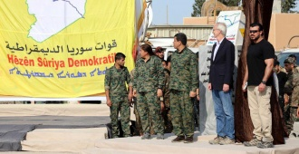 Celebran derrota del Estado Isl�mico con el fin del califato