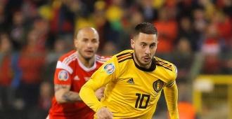 Hazard se convierte en el segundo máximo goleador de la historia de Bélgica