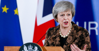 """May reúne a sus ministros en otra semana crucial para el """"brexit"""""""