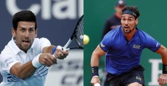 Djokovic amplia su ventaja sobre Nadal y Fognini sube 6 puestos