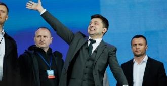 La UE felicita a Zelenski por su victoria en las elecciones en Ucrania