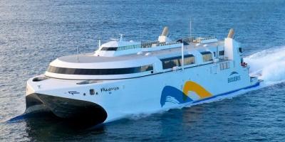 """Barco """"Francisco"""" de Buquebus colabor� en rescate de velero en el R�o de la Plata"""