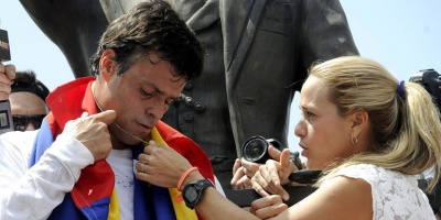 """Vicepresidente de Venezuela: """"Mercenarios podr�an tener a esposa de Leopoldo como objetivo pol�tico"""""""