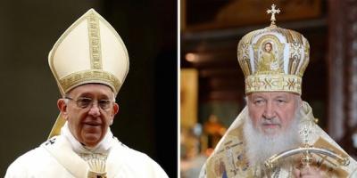 Francisco y Kiril, en la cita m�s esperada del cristianismo en mil a�os