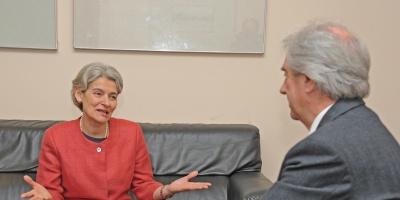 Subdirectora de UNESCO destaca avances en educaci�n y libertad de expresi�n en Uruguay