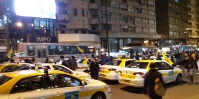 Taxis movilizados por UBER