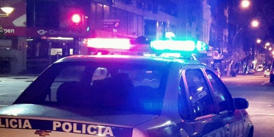 Asesinaron a un hombre de que estaba junto a sus nietos en Montevideo