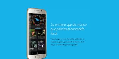 Aplicación de música uruguaya privilegia artistas locales