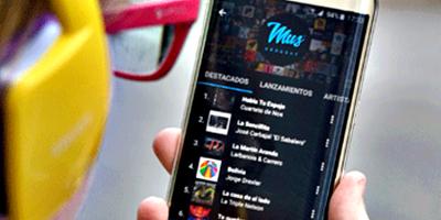 La aplicación MUS difunde música uruguaya