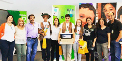 Estudiantes del liceo de Tala compiten con proyecto de robótica