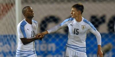 Uruguay empató 3 a 3 con Argentina