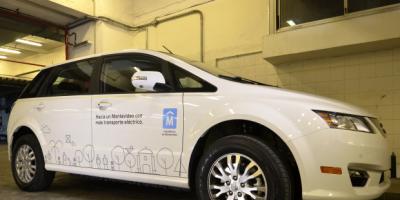 Intendente Martínez utilizará un auto eléctrico