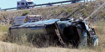 Trece muertos y 34 heridos en choque de buses en Argentina