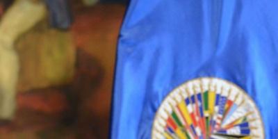 Embajadora de Venezuela irrumpe en rueda de prensa de jefe de OEA con opositoras