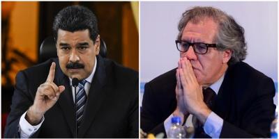 Almagro inicia consultas sobre Venezuela y Caracas protesta