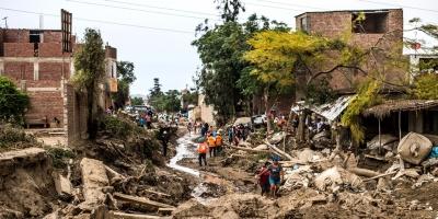 78 muertos tras lluvias en Perú y acechan problemas de salud