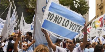 Docentes suben la tensión social contra el gobierno de Mauricio Macri