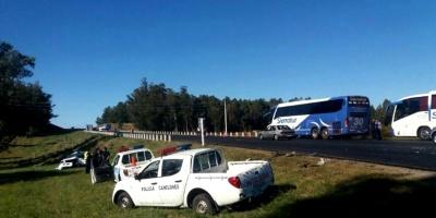 Una familia falleció tras un accidente en ruta 8