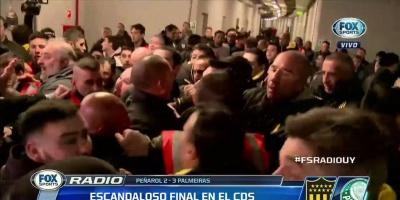 Suspensión provisional de Conmebol para Nández, Mier, Hernández y Felipe Melo