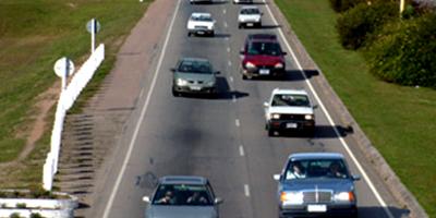 Importante flujo de tránsito en las rutas nacionales