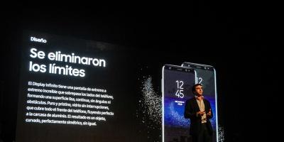 Llegó a Uruguay el Galaxy S8 y S8+