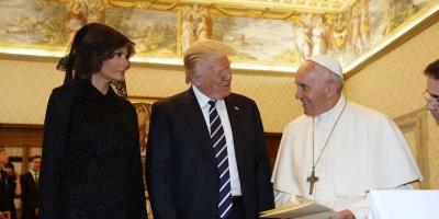 El papa Francisco recibió a Trump, un encuentro para limar asperezas