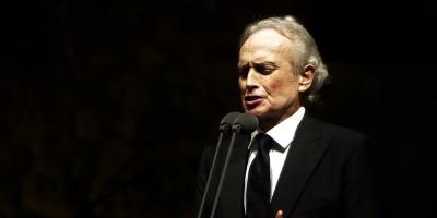 El tenor José Carreras cantó en Montevideo, en su última gira mundial