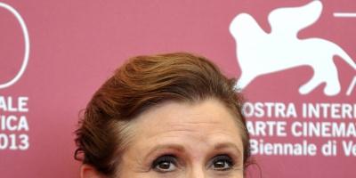 La autopsia de Carrie Fisher revela cocaína y éxtasis