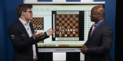 """Carlsen ganó """"sufriendo"""" y con lo """"justo"""""""