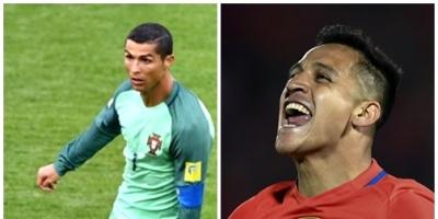 Ronaldo-Alexis, los solistas de la Confederaciones se juegan la final