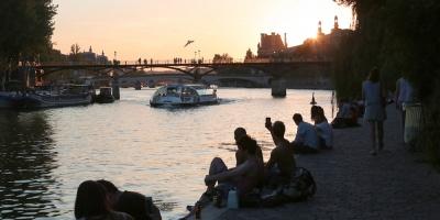 Canal parisino habilitado para bañarse fue cerrado por la contaminación